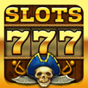 Pirate Slots Icon Logo