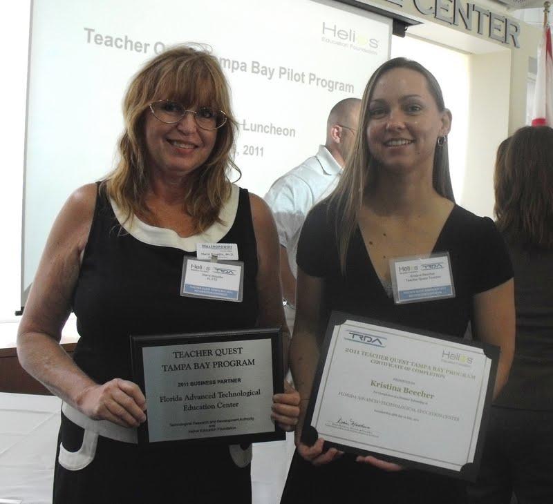 FLATE Focus: Tampa Bay Teacher Quest Program: A Vital Link