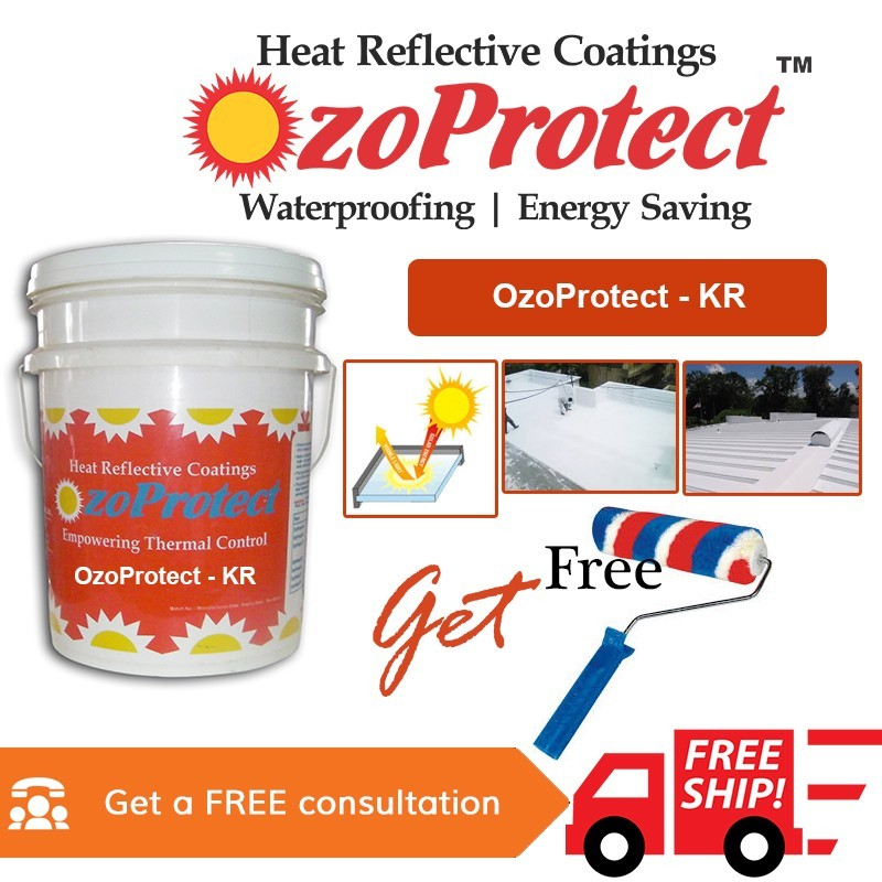 Heat Reflective Coatings Acrylic Polymer Based Heat Reflective Coatings Ozoprotect Kr