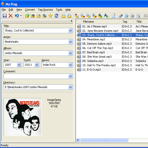 MP3 Meta Tags Batch Editor Software [Download Free] | Online ...