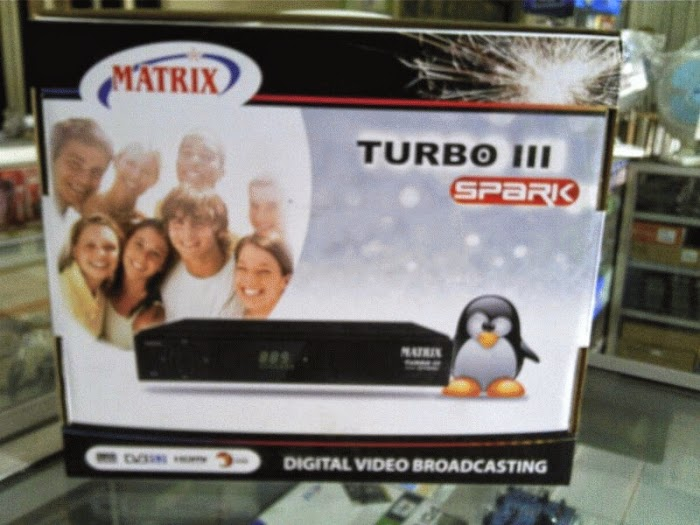 Receiver MATRIX TURBO III SPARK Linux Bebas Time Bomb