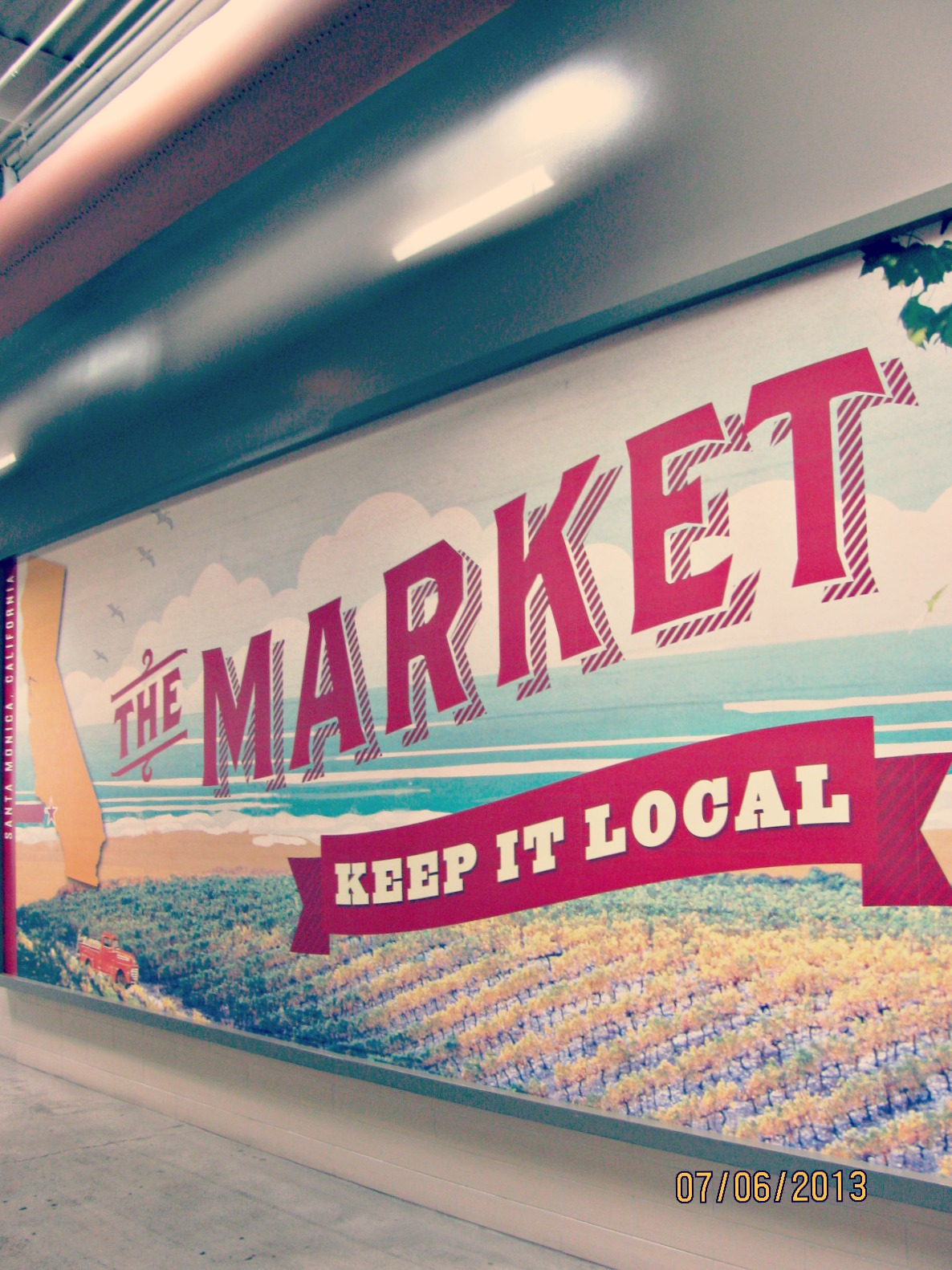 Santa Monica Place // Keep It Local at The Market