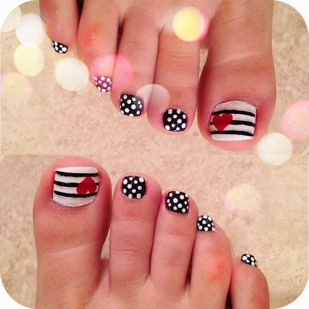 nail design toe
