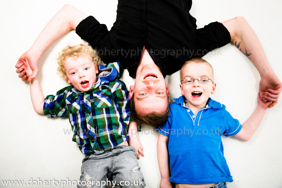 Townley Family Studio Portraits Taken In Coventry