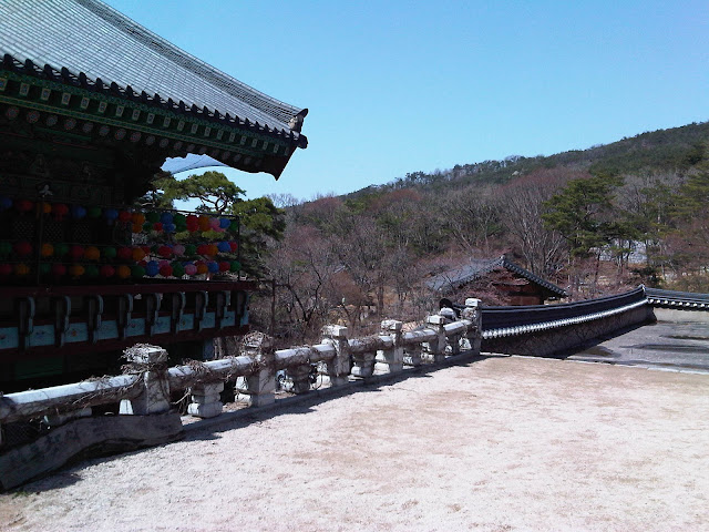 Sudok-Sa Monastery view