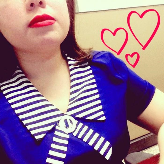 Kristina Uriegas does nautical chic!