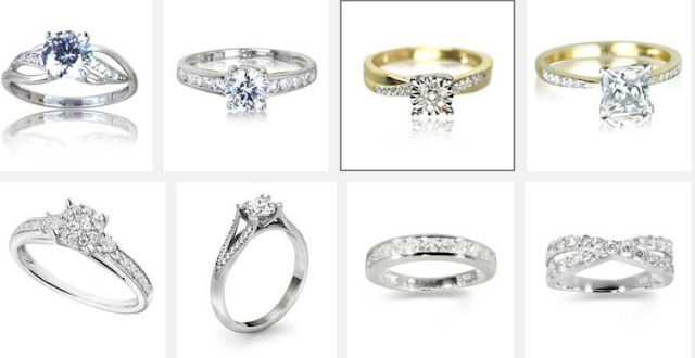 Cool wedding rings for newlyweds Silver engagement rings warren james