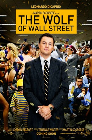 The Wolf of Wall Street: Theatrical Release Poster
