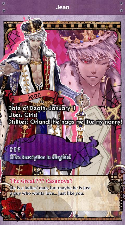 Otome Otaku Girl: Shall we date?: The Niflheim + Characters
