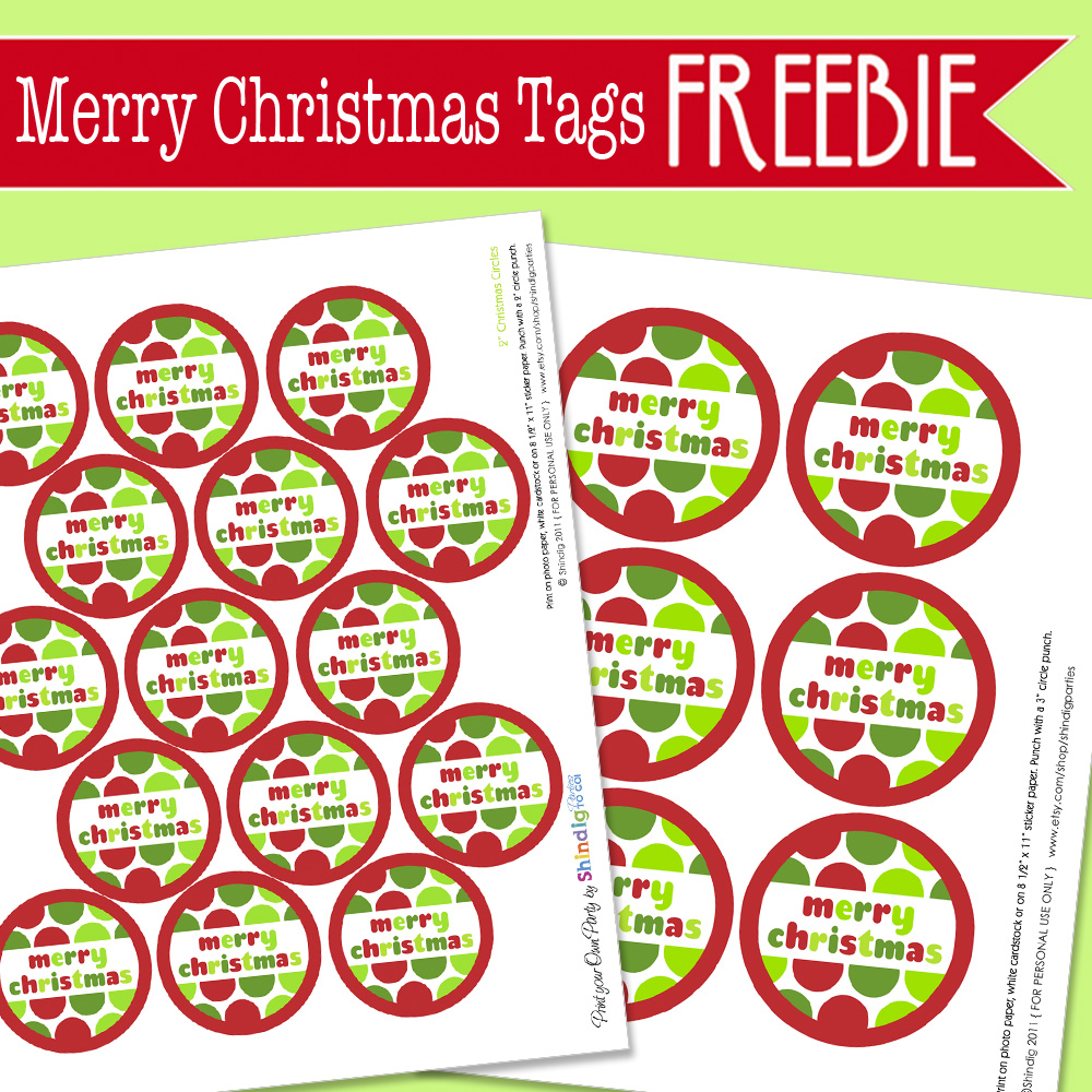 Unforgettable image with regard to merry christmas tags printable