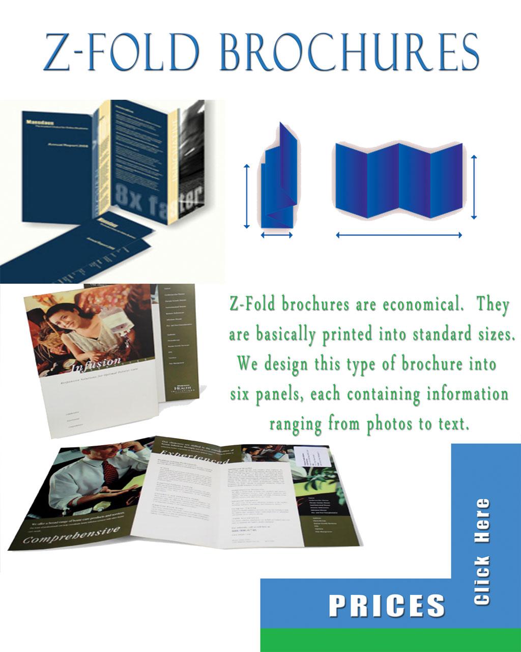 Brochure zafira pics brochure z fold for Z fold brochure template