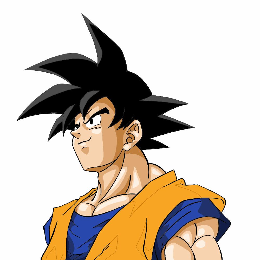 imagens para colorir do goku - Goku para colorir Desenhos para Colorir