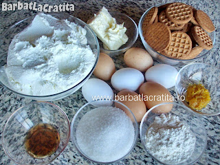 Cheesecake ingrediente reteta
