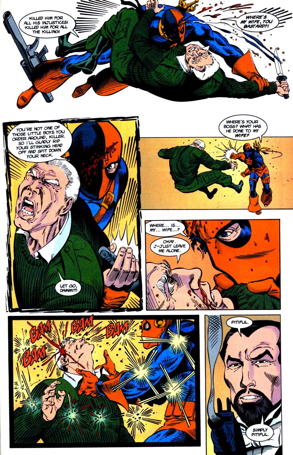 Deathstroke (1991) Issue #32 #37 - English 18