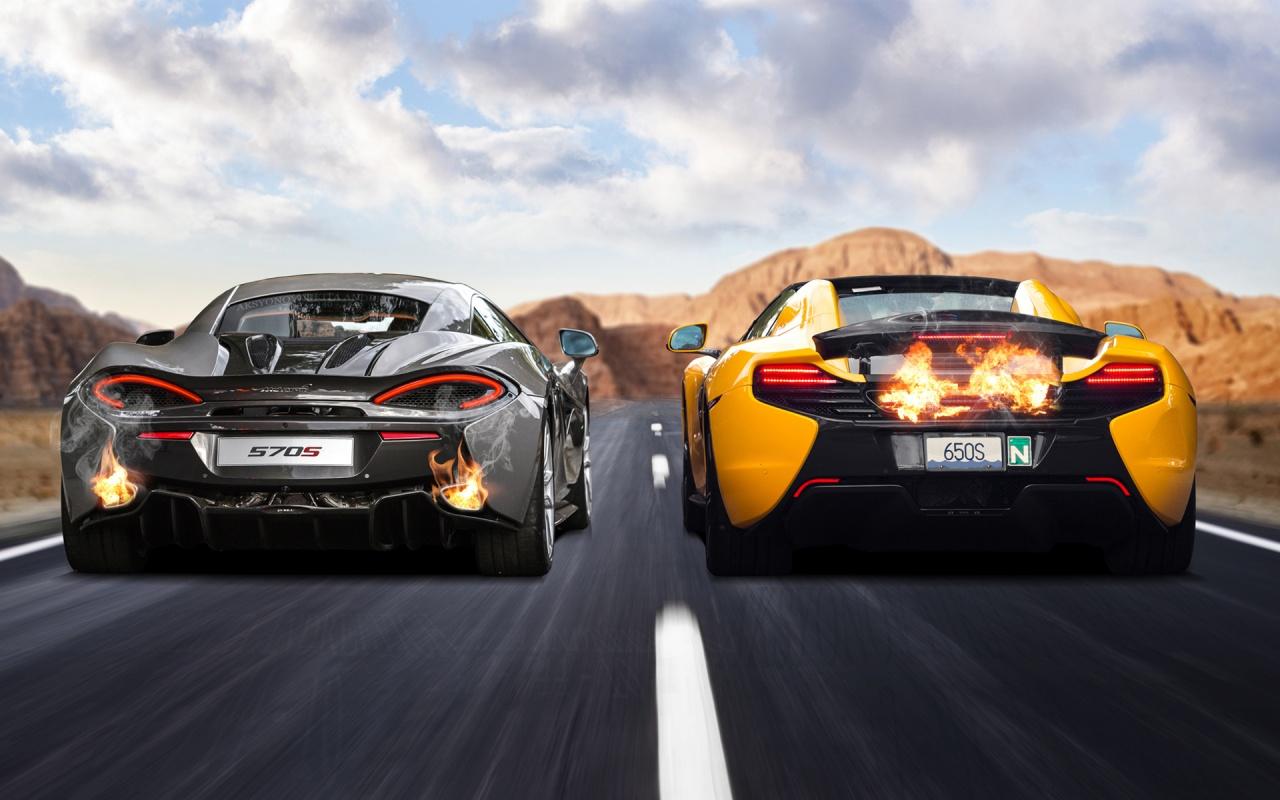 McLaren 570S & 650S