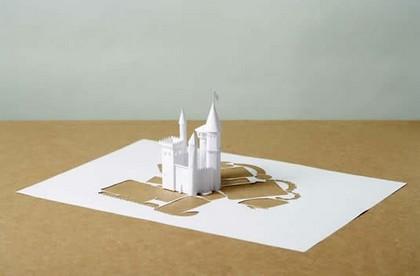 berita unik - karya seni dari kertas