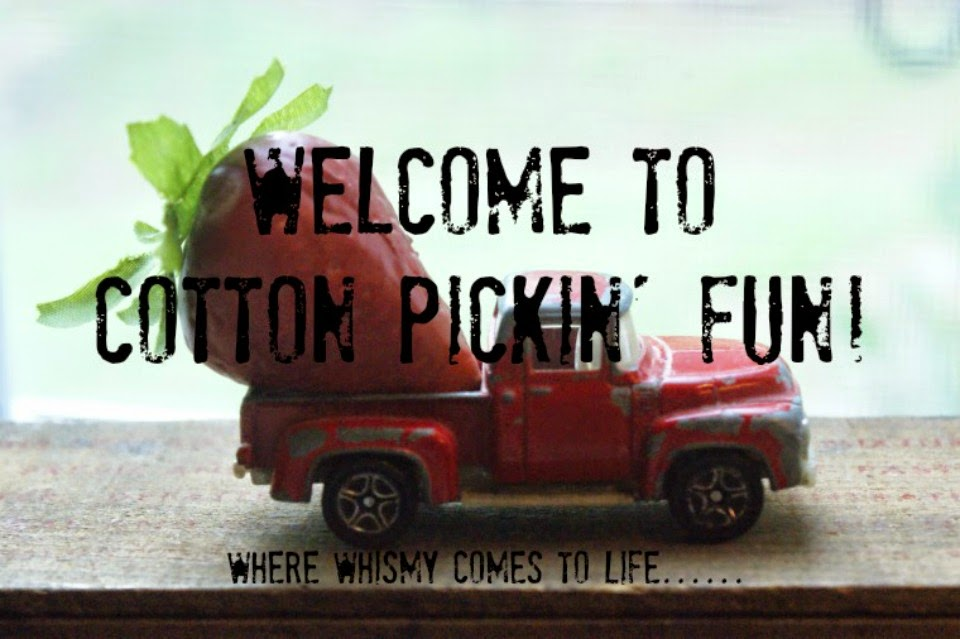 cotton pickin' fun!