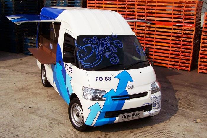 Modifikasi Mobil Daihatsu Granmax Minibus Untuk Jualan