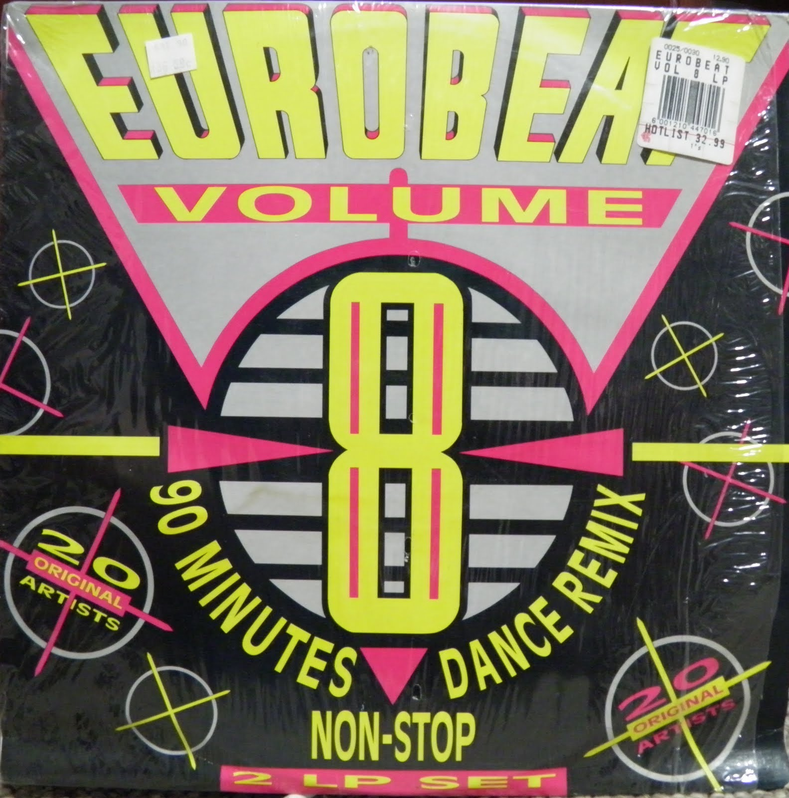 Retro disco hi nrg eurobeat volume 8 90 minute non Best 80s house remixes