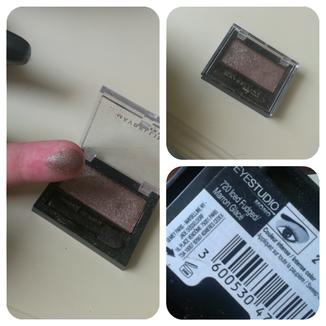 Maybelline Eyeshadow in Iced Fudged (Satin Taupe Dupe)