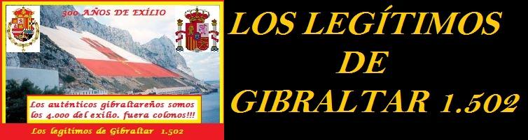LOS LEGÍTIMOS DE GIBRALTAR   1.502