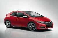 Honda Civic vermeho lançamento para 2012 2013
