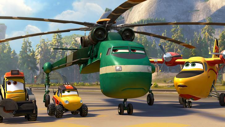Planes Fire Rescue Movie