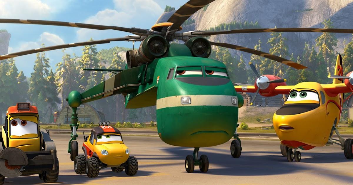 Planes Fire Rescue Movie Wallpaper HD