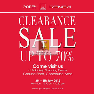 Poney Clearance Sale 2012