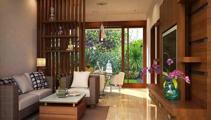 Desain ruang keluarga minimalis 3