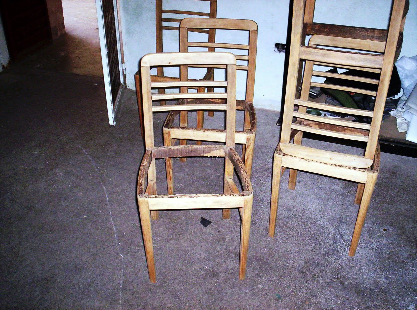 Reciclado De Sillas Y Sillones 6 Sillas Restauradas