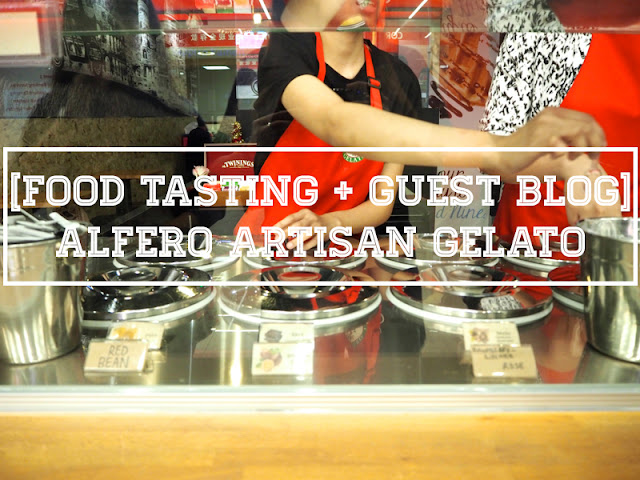 Alfero Artisan Gelato Orchard Gateway Food Review Lunarrive Singapore Lifestyle Blog