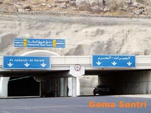 Terowongan Mina-Gema Santri