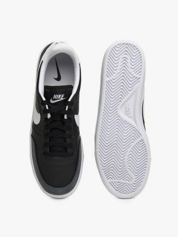 Myntra Nike Men Black & White Grand Terrace Casual Shoes Flat 35