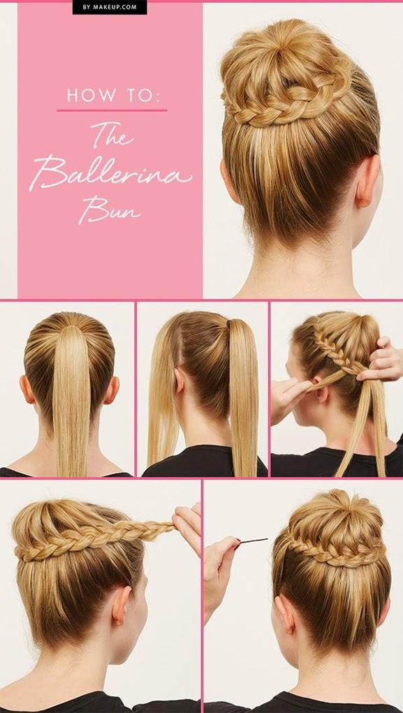 How to do a ballerina bun