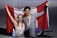 PATINAJE ARTÍSTICO - ISU Grand Prix Finals 2015. Kaitlyn Weaver y Andrew Poje defendieron el oro en danza sobre hielo