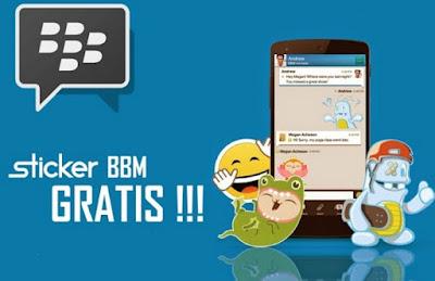 download Update Free Sticker BBM Official