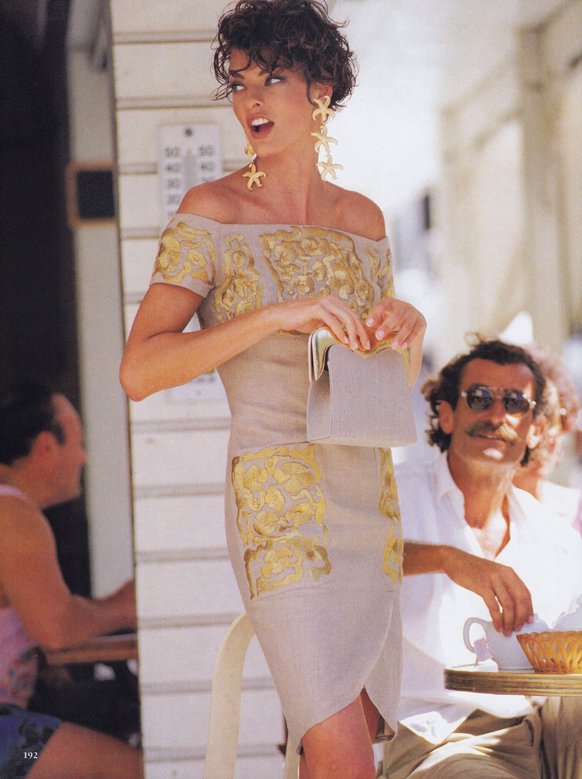 The gallery for --> Yolanda Foster Model 1990 | 1196 x 1600 jpeg 552kB