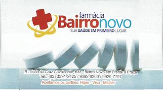 Farmácia BAIRRO NOVO