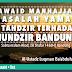 [AUDIO] Al-Ustadz Luqman Ba'abduh - Fawaid Manhajiah Masalah Yaman & Tahdzir terhadap Mundzir Bandung