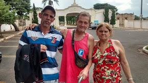 Sandro, Roberto e Lídia Regina