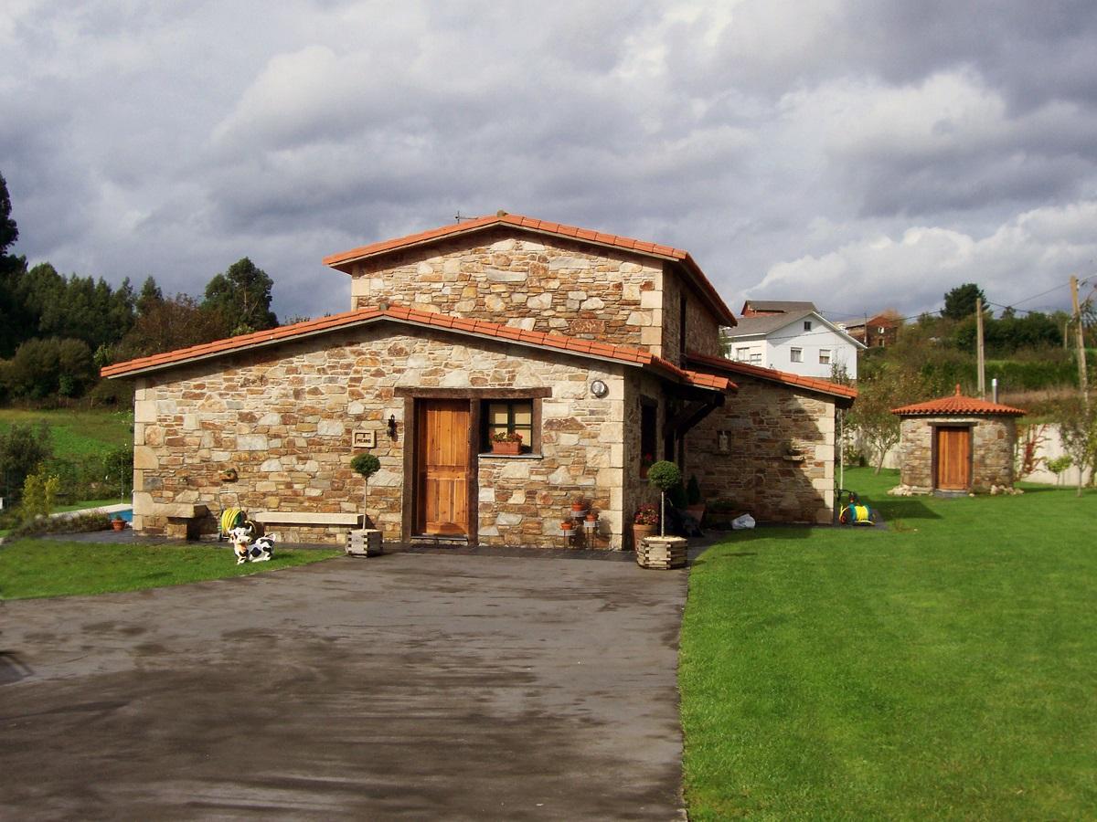 Construcciones r sticas gallegas casa en ares - Entradas de casas rusticas ...