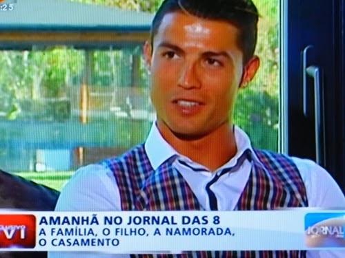 Cristiano Ronaldo concede entrevista a Judite de Sousa