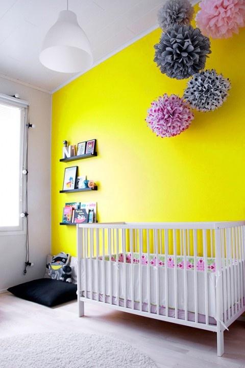 La casa da vivere dipingere la camera dei bambini - Pareti camera bambini ...