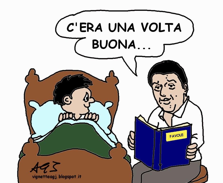 Renzi, governo, riforme, satira , vignetta