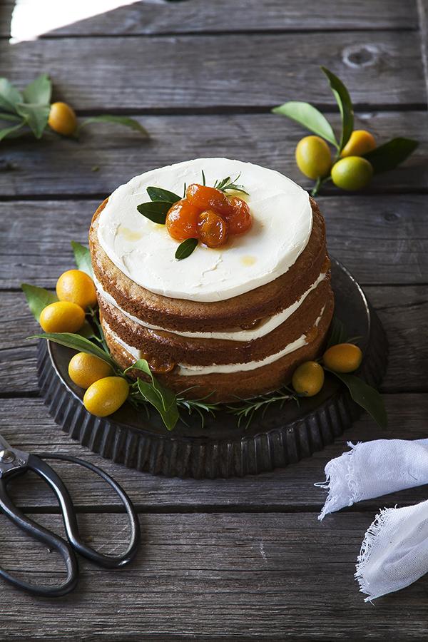 Torta de quinotos y queso libre de guten