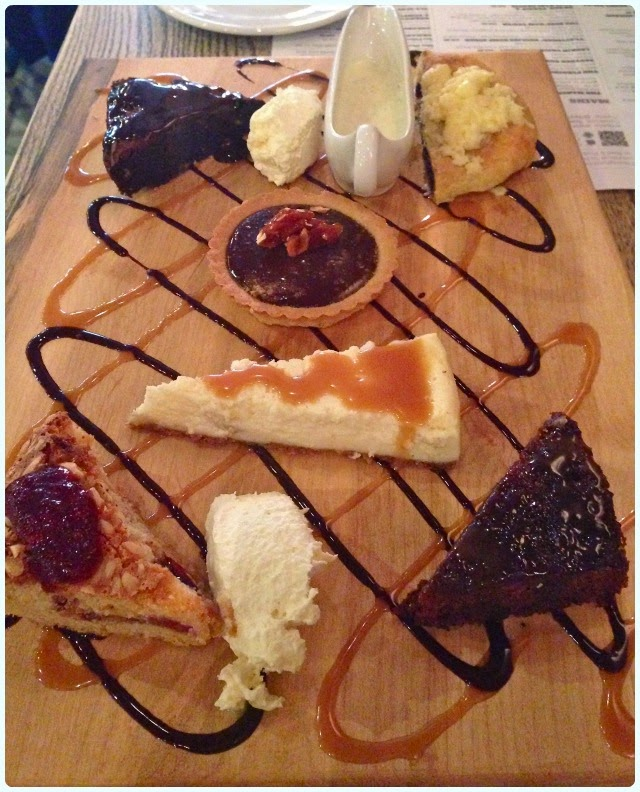 Beef and Pudding, Manchester - Dessert Platter