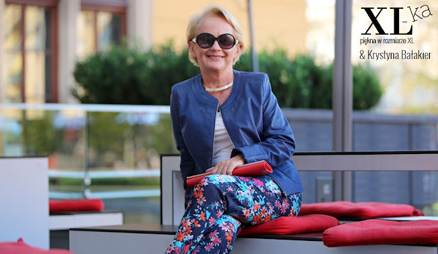 moda po pięćdziesiątce stylizacja Krystyna Bałakier