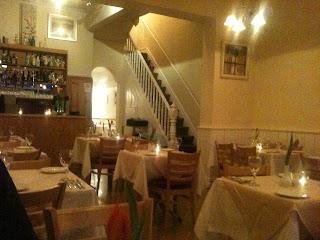 Almada restaurant Cardiff dining room