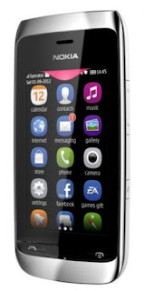 the nokia asha 309 is a wifi phone with touchscreen feat